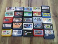 Nintendo Famicom Lot of 20 piece Dragonball Macmax NES T788