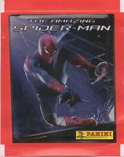 FIGURINE STICKERS THE AMAZING SPIDER MAN • 50 BUSTINE PANINI