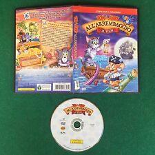 (DVD) TOM & JERRY ALL'ARREMBAGGIO IL FILM ANIMAZIONE Spedizione GRATIS !!!