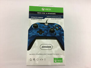 PDP Stealth Series Revenant Blue Xbox One Wired Controller - NEW, Free Shipping