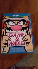 Game & Wario. Nintendo Wii U. Complete. Rare. Free Shipping. Fast Shipping.