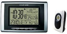 Wireless Weather Station + Sensor Remoto, temperatura, presión de aire, Higrómetro, Reloj