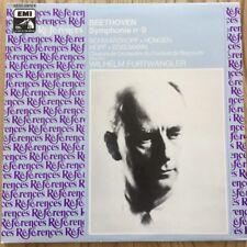2 C 151-53678/9 Beethoven Symphony No 9 / Furtwangler 2 LP set