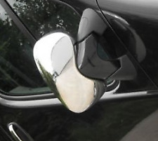 CHROME EXTERIOR SIDE MIRROR COVERS TRIM CAPS WINGS for RENAULT TRAFIC 2001-2016