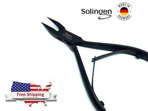 Fine Pointed Toe Nail Nipper Professional Ingrown Nail Clippers Cutter Solingen