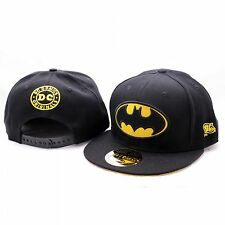 Batman Classic Logo Superhelden Baseball Hip Hop Cap Kappe Mütze Sommer Snapback