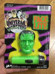 Vintage Universal Monsters Flash Light Halloween Frankenstein MINT CONDITION