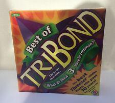 Best of Tribond Board Game Educational Classroom Mattel G6848 NIP Sealed 2004