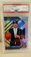 PSA 10 RC Luka Doncic 2018-19 Panini Luck / Lottery HYPER PRIZM #3 Rookie POP 30