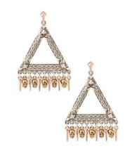 House of Harlow 1960 Skull Statement Earrings