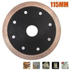 Universal 115mm Porcelain Tile Turbo Thin Diamond Dry Cutter Blade/Disc 12200RPM