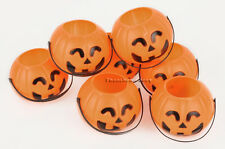 """10*Halloween Party Pumpkin Decorations Props Candy Holder 2.7"""""""