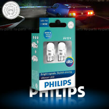 Philips W5W LED Ultinon Warm White 4000K Car Interior Bulbs 11961ULW4X2