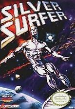 Silver Surfer (Nintendo Entertainment System, 1990 GAME ONLY NICE SHAPE NES HQ