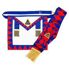 Nouveauté Emblème maçonnique Sainte Royal Arche Provincial TABLIER & foulard Ra