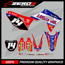 HONDA CR125-250 2004-2007 CRF250-450 2004-2020 MOTOCROSS MX GRAPHICS KIT LUCAS