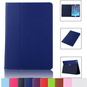"""For Apple iPad 5th 6th 9.7"""" 7th 8th Gen 10.2"""" Leather Folding Stand Case Cover"""