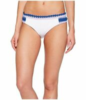 Becca by Rebecca Virtue Women's Scenic Route Tab Side Hipster Bikini Bottom, M
