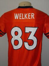 WES WELKER #83 DENVER BRONCOS ORANGE NFL FOOTBALL JERSEY YOUTH XL 16/18