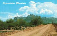 Postcard Arizona Superstition Mountain