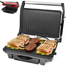 Dunlop ® Grill de table Grill électrique barbecue Maker Gril Sandwich Panini