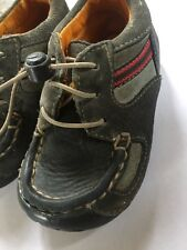 Baby Boys Clarks Shoes Size 4G