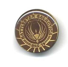 """Battlestar Galactica Bgs 75 Enamel/Metal 1 1/8"""" Pin- (Bgpi-02)"""