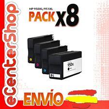 8 Cartuchos de Tinta NON-OEM 950/951XL - HP Officejet Pro 8600