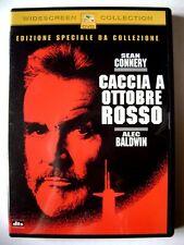 Dvd Caccia a Ottobre Rosso - Edizione Speciale da Collezione 1990 Usato
