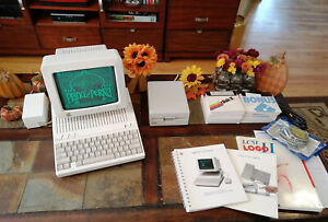 Apple II Professionally Restored with Monitor huge lot Beautiful Condition