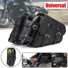 2x Motorcycle Side Saddle Bag for Harley Davidson Sportster Xl883 Xl120 04-up AU