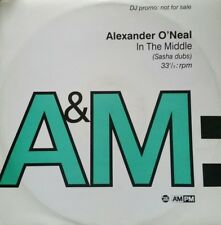 "Alexander O`Neal  ""In The Middle"" (Sasha Dubs) * A&M Records - AMXDJ 7715 Promo"