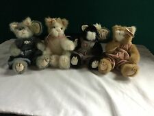 4 TY Cats-Lot Of 4, Collectable!!! Retired!!