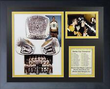 1971/72 BOSTON BRUINS STANLEY CUP CHAMPIONS FRAMED 8X10 PHOTO BOBBY ORR