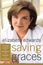 Saving Graces: Finding Edwards, Elizabeth HC DJ 1st/1st Illust Free Ship