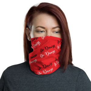 UGA Face Mask Neck Gaiter, washable nose mouth neck covering, headband