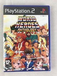 PS2 World Heroes Anthology (2008), UK Pal, Brand New & Factory Sealed