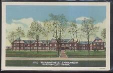 Postcard MARTINSVILLE Indiana/IN  Sanitarium/Hospital Campus Building 1930's