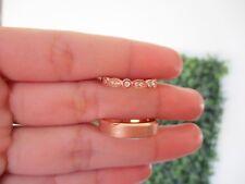 .18 Carat Diamond Rose Gold Wedding Ring 14k WR106 sepvergara