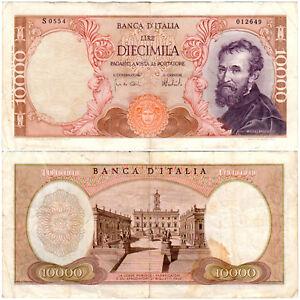 Italy 10000 Lire P#97f (15.02.1973) Banca d'Italia VF