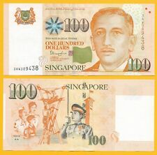 Singapore 100 Dollars p-50h 2018 UNC Banknote