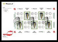 Österreich Kleinbogen MiNr. 2414 Ersttagsbriefe/ FDC Tag der Briefmarke (GF14632