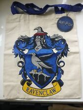 Harry Potter Canvas Tote Bag Hogwarts Ravenclaw casa scuola nuovo