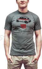 FITS34 FIAT 500 T-SHIRT GRIGIA (XL) FIAT UFFICIALE ORIGINALE