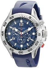 Nautica Men's Blue Resin Chronograph Watch N14555G