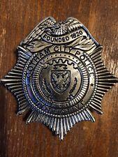 Gotham City Police GCPD Detective James Gordon Badge Batman SDCC Exclusive HTF!
