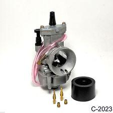 New Performance Carburetor for 34MM intake  2 Stroke Racing Flat Side Part Carb