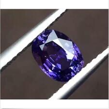 Purple SAPPHIRE 7.56cts 10x12MM Oval SHAPE AAAAA VVS Loose GEMSTONE
