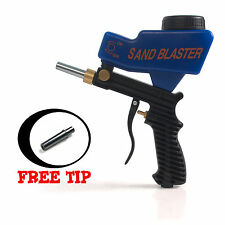 Gravity Feed Portable Air tool Sandblaster Sand Blasting Nozzle Gun Free US SHIP