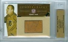 2003-04 BAP TOMMY IVAN 1/1 AUTO HOF LUMBERGRAPH ULTIMATE 4TH EDITION BLACKHAWKS